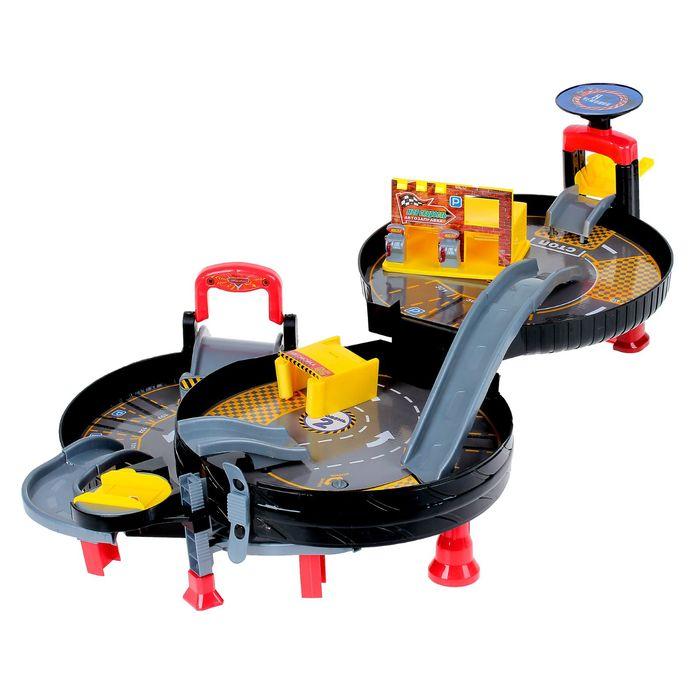 Игрушки для мальчиков гаражи и парковки оптом на сайте - Alba картинка