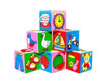Кубики с картинками для детей оптом с доставкой по всей России картинка