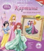 "Картина из пластилина Disney ""Принцессы Disney"" арт. Пкд-004 фото"