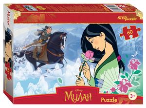 """Мозаика """"puzzle"""" 60 """"Мулан"""", арт.81207 фото"""