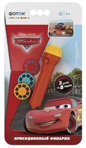 Мультфонарик с дисками ФОТОН, KP-0904-3, Disney/Pixar Тачки арт.22777 фото