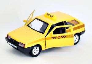 """маш """"LADA 2108"""" такси 1:36 арт.3311 фото"""