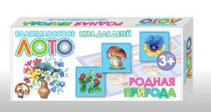 """Лото пластмассовое """"Родная природа"""" арт. 00624 фото"""