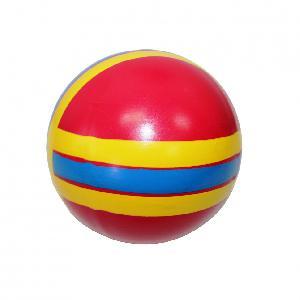 Мяч 150 мм с-101ЛП (полоса) арт.с-101ЛП (1/16) фото
