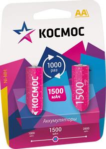 Аккумулятор КОСМОС R6 NI-MH (1500mAh) арт.КОСRNIMH(1500mA) фото