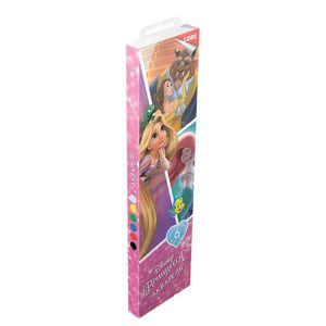 """Акварель Disney """"Принцессы"""" 6 цветов, в пластике, б/к, арт.Алд-005 фото"""