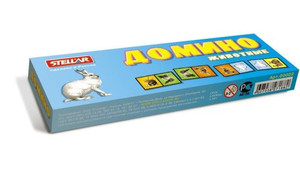 """Домино 2 """"Животные"""" арт.00002 фото"""