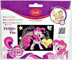 "Картинка из фольги ""Пинки пай"" My Little Pony, арт.57932 фото"