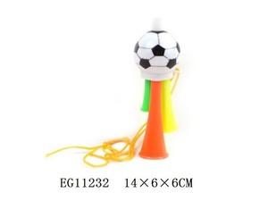 Гуделка футбольная малая в пак., арт.12936 фото