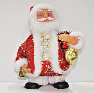 """Дед мороз э/м 8"""" арт.JK0102А (кор.96) фото"""