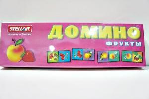 """Домино 1 """"Фрукты"""" арт.00001 фото"""