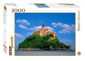 """Пазл 2000 """"Франция Мон-Сен-Мишель арт.84015 фото"""
