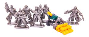 """Игровой набор №1 """"Бронепехота с орудиями"""", арт.00944 фото"""