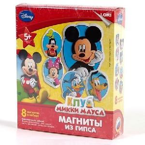 """Магниты из гипса Disney """"Клуб Микки Мауса"""" арт. Мд-001  фото"""