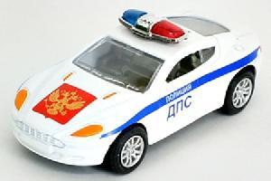 "маш ""SUPERCAR POLICE"" полиция, ассортимент, диспенсер 1:48, арт.34099 фото"