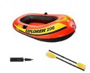 Лодка-набор Исследователь 200,  185/94/41см от 6лет (кор.3шт)арт.58331 фото