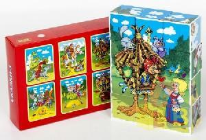 "Кубики ""Сказки-3"" без обклейки 12шт. арт. 00689 фото"
