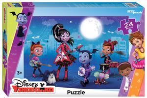 """Мозаика """"puzzle"""" maxi 24 """"Вампирина"""" (DisneyJunior), арт.90070 фото"""