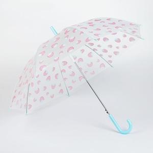 Зонт дет. п/авт., R44, 8 спиц, ПВХ Клубнички, арт.2488555   фото
