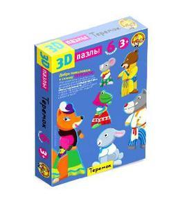 3-D пазлы Терем-теремок арт.01350 фото