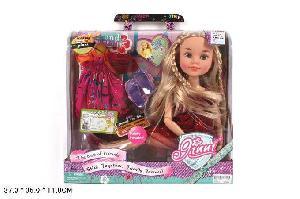 Кукла арт.63055 (кор.18) размер 32см.*35см. фото