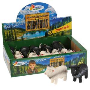 Игрушка пластизоль тянучка Играем вместе овечка 10см 2 асс., арт.A151S-DB фото