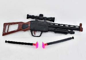 Пистолет с присосками (в кор.720), арт.677 фото