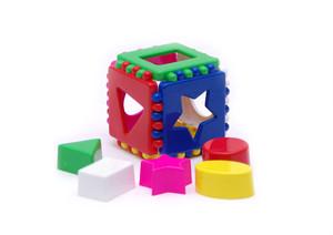 Кубик логический малый арт.40-0011 (кор.36) фото