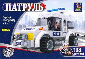 """23409 Конструктор """"Патруль"""" 108 дет. (кор.72) фото"""