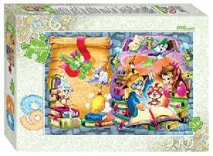 """Мозаика """"puzzle"""" 60 """"Весёлые волшебники"""" (Любимые сказки), арт.81028 фото"""