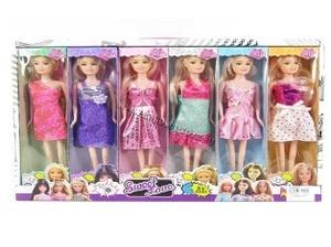 Кукла (6) в нарядном платье с гнущимися ногами SweetLove в кор./в шоу-боксе, арт.46159 фото