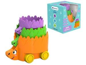 """Набор игрушек на колёсах """"Ёжики"""", арт.480558 фото"""