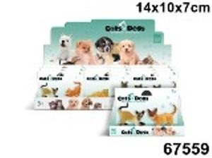 Набор Кошки 2шт. в коллекции фигурок Cats&Dogs, арт.67559 фото