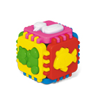 "Логический куб ""Веселые зверята"" арт.01326 фото"
