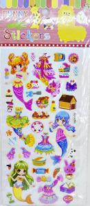 Набор наклеек для девочек(20) в ассортименте SD-U093, арт.46239 фото