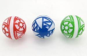 Мяч 200мм лакир.с-34ЛП (сетка) арт.с-34ЛП (1/8) фото
