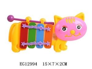 Ксилофон-Котик малый в пак., арт.40066 фото