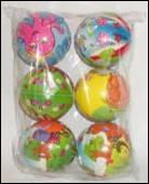 Мяч детский формовый, арт.2517-19 (1/6/300) фото