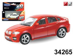 """маш.""""BMW X6""""  1:43 арт.34265W-RUS фото"""