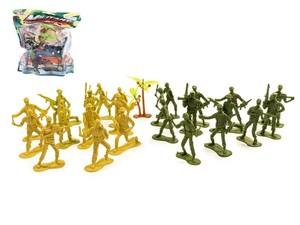 Набор фигурок солдат средний в пакете zip-lock, арт.45245 фото