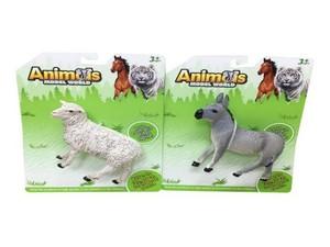 """Фигурка животного 5,5"""" (2в.) литая AnimalsModelWorld в ассортименте на карт.,арт.47112 фото"""