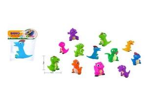 Фигурки динозаврик со свистком 12 см. пластизоль в ассортименте в пак., арт.47297 фото