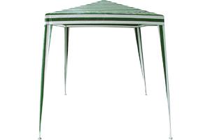 Шатер зеленый 2,4х2,4 м материал PE 85G,арт.P-31 фото