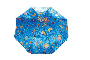 Зонт пляжный с механизмом наклона 180 см,арт.UM-T190-2/180 фото