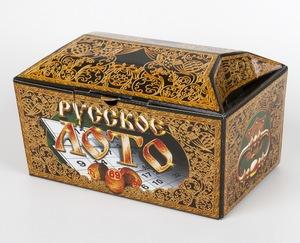 Лото Русское (картонный ларец) арт. 00142 фото