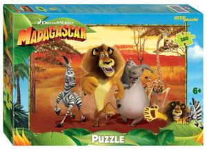 """Мозаика """"puzzle"""" 260 """"Мадагаскар - 3"""" (DreamWorks, Мульти), арт.95095 фото"""