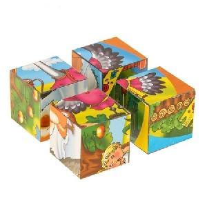 """Кубики """"Цветные сказки-2"""" (16 шт.) арт.00477 фото"""