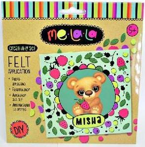 "Набор для создания аппликации из фетра ""Мишка Misha"", арт.62483 фото"
