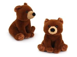 """Мягкая игрушка мини """"Wiki Zoo"""" Медведь с обуч. чипом в 5 нажатий в/п 16 см арт.9935/WZ фото"""