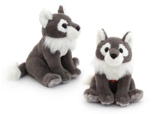 """Мягкая игрушка мини """"Wiki Zoo"""" Волк с обуч.чипом в 5 нажатий в/п 16 см арт.9936/WZ фото"""